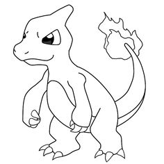 charmander coloring page charmander template by shadowxmephiles on deviantart coloring charmander page