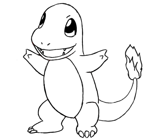 charmander coloring page pokemon coloring pages charmander coloring coloring home page coloring charmander