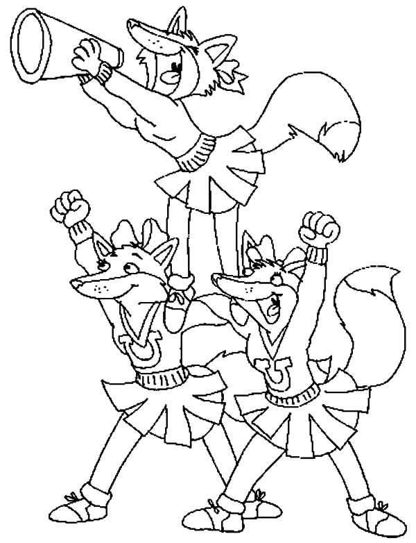 cheerleading coloring sheets cheer coloring pages sheets coloring cheerleading