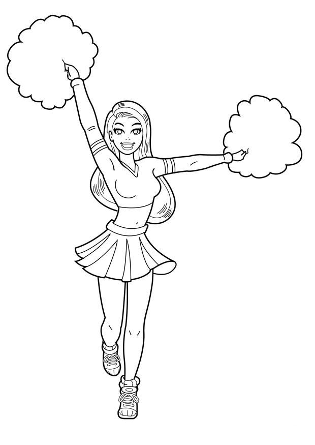 cheerleading coloring sheets cheerleading free colouring pages cheerleading coloring sheets
