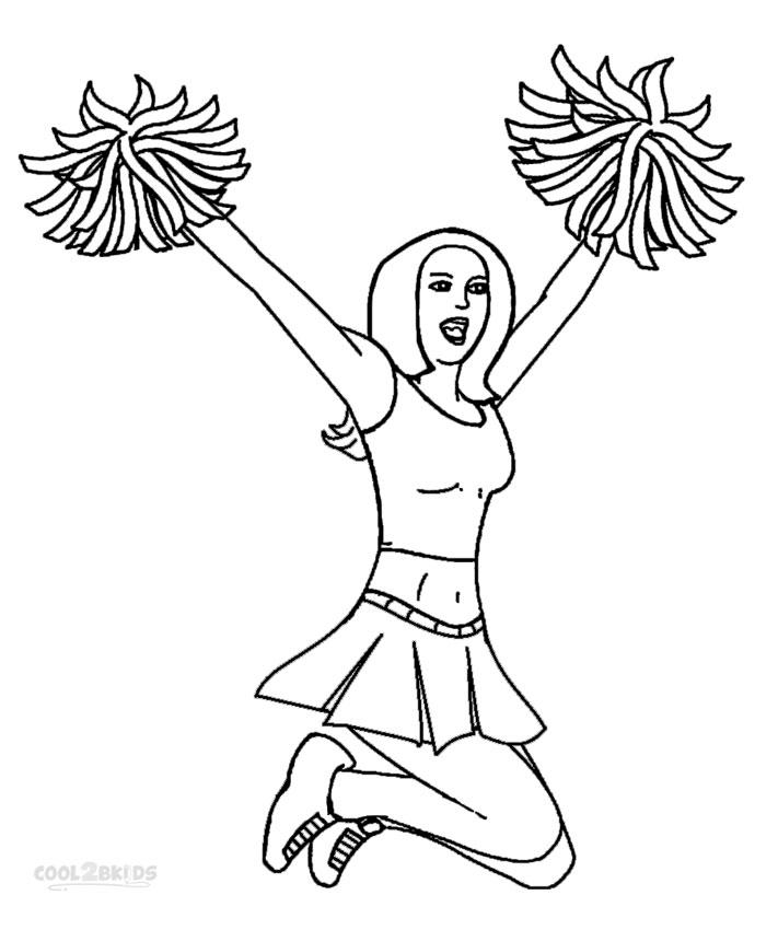 cheerleading coloring sheets cheerleading printable coloring pages sheets cheerleading coloring