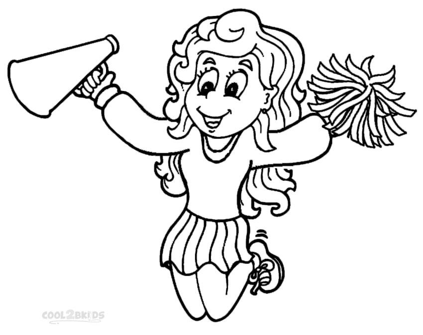 cheerleading coloring sheets cheerleading printable coloring pages sheets coloring cheerleading