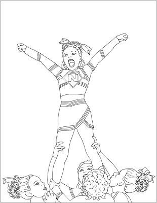cheerleading coloring sheets printable cheerleading coloring pages for kids cool2bkids cheerleading sheets coloring 1 1