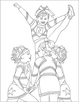 cheerleading coloring sheets printable cheerleading coloring pages for kids cool2bkids coloring cheerleading sheets