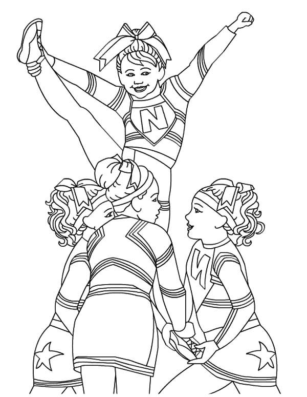 cheerleading coloring sheets printable cheerleading coloring pages for kids cool2bkids coloring cheerleading sheets 1 1