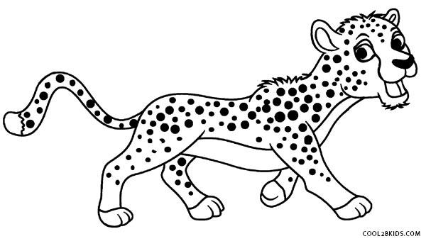 cheetah colouring page cheetah coloring pages 360coloringpages colouring page cheetah