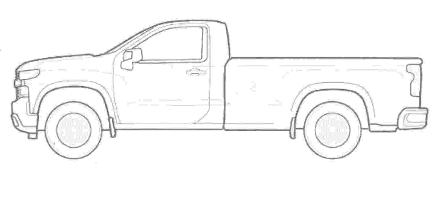chevrolet coloring pages chevy c10 drawing at getdrawings free download coloring chevrolet pages