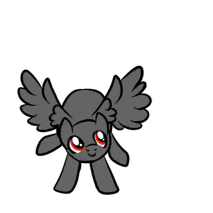 chibi pegasus chibi pony base urggg by spiderwillow on deviantart chibi pegasus