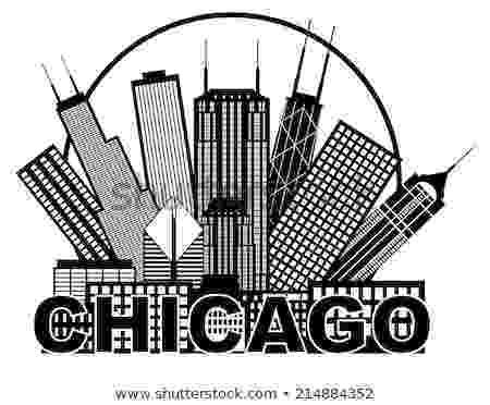 chicago skyline coloring page art of elke reva sudin chicago sketches page skyline coloring chicago
