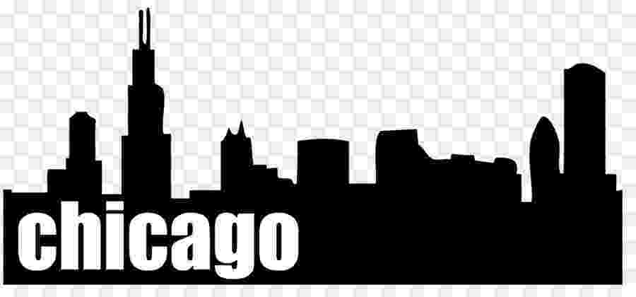 chicago skyline coloring page atlanta skyline silhouette free vector silhouettes chicago coloring page skyline