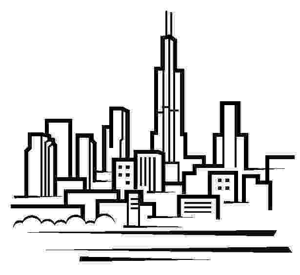 chicago skyline coloring page chicago illustrations and clipart 1262 chicago royalty page chicago skyline coloring