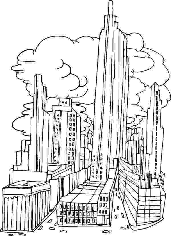 chicago skyline coloring page chicago skyline clipart clipart best skyline chicago page coloring