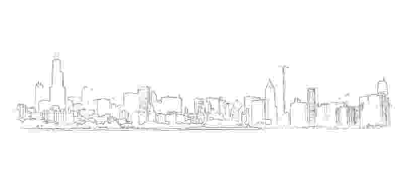 chicago skyline coloring page city 15 buildings and architecture printable coloring skyline page coloring chicago