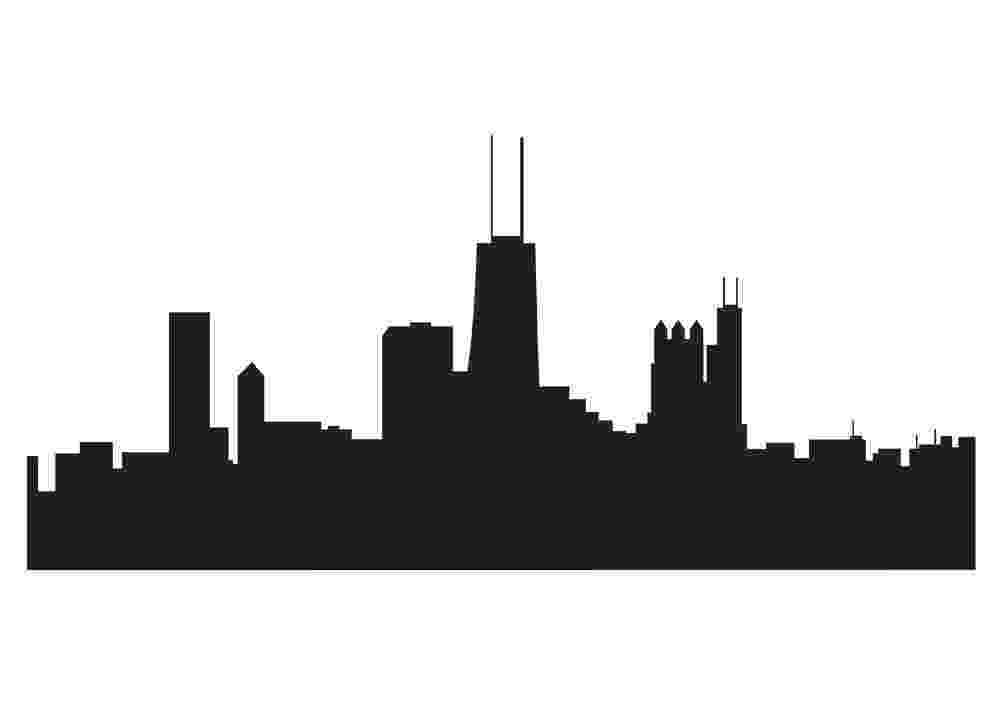 chicago skyline coloring page coloriage chicago skyline 1 à imprimer pour les enfants page coloring skyline chicago