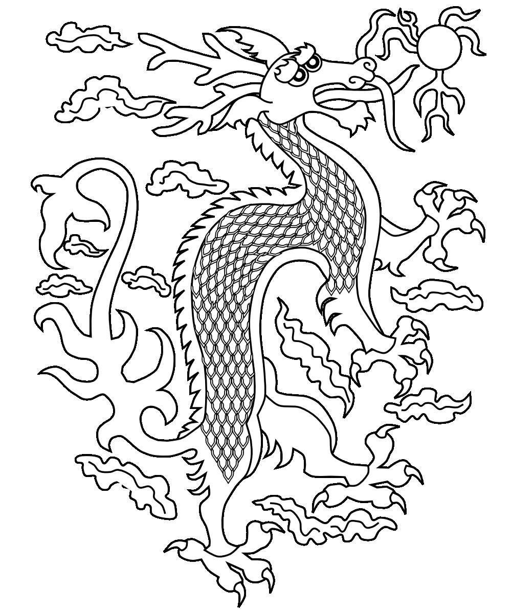chinese dragon colouring page chinese dragon coloring page free printable coloring pages page colouring dragon chinese