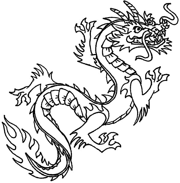 chinese dragon colouring page chinese dragon coloring pages coloring pages to download chinese dragon page colouring