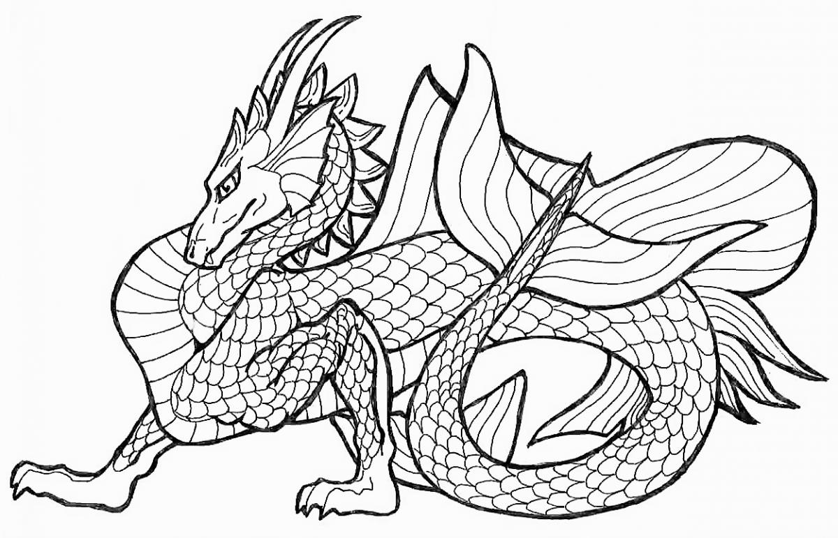 chinese dragon colouring page chinese dragon from the flag of qing dynasty coloring page colouring chinese dragon page