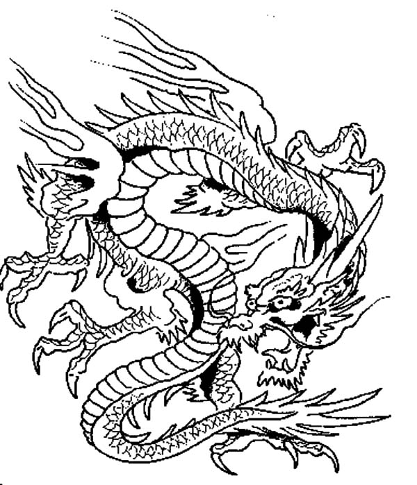 chinese dragon colouring page chinese dragon netart part 2 chinese dragon page colouring