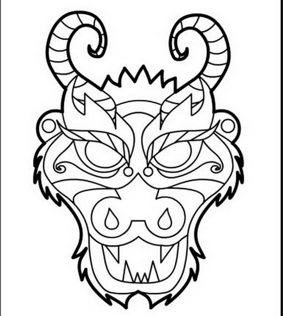 chinese dragon colouring page free printable chinese dragon coloring pages for kids colouring dragon page chinese