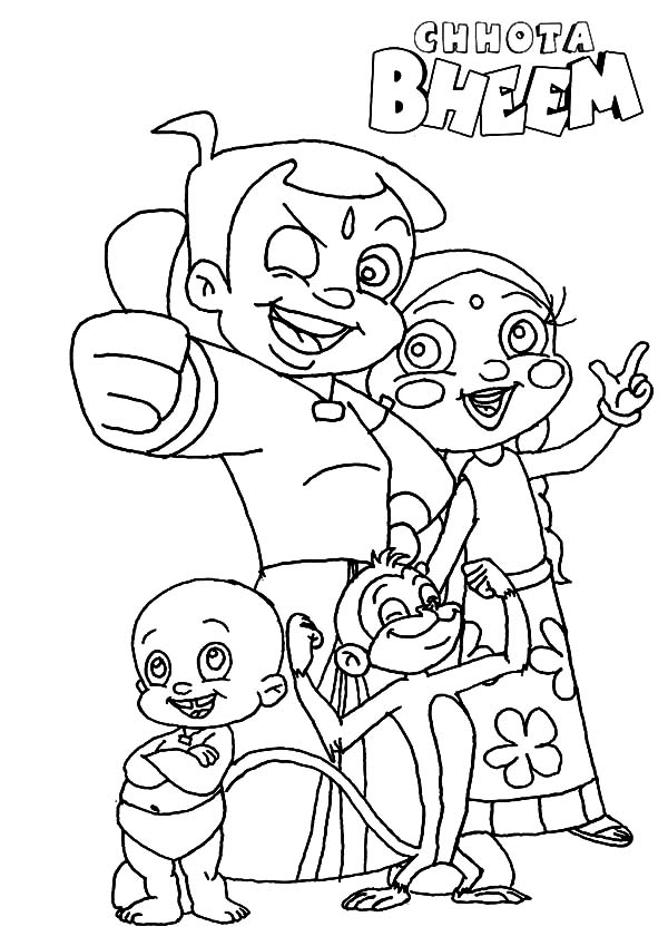 chotta bheem pictures choota bhm free coloring pages bheem pictures chotta