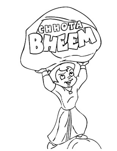 chotta bheem pictures chota bheem coloring pages chotta pictures bheem 1 1