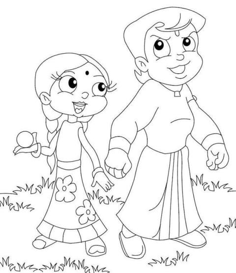 chotta bheem pictures chota bheem coloring pages pictures chotta bheem