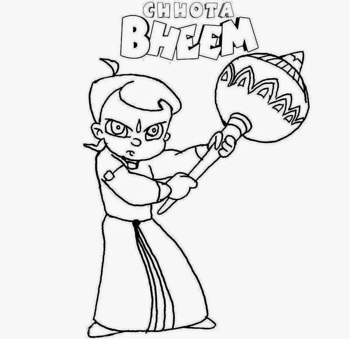 chotta bheem pictures colours drawing wallpaper chota bheem for kids colour bheem chotta pictures