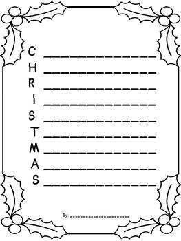 christmas acrostic poem printable merry christmas acrostic poem template holiday writing printable acrostic christmas poem