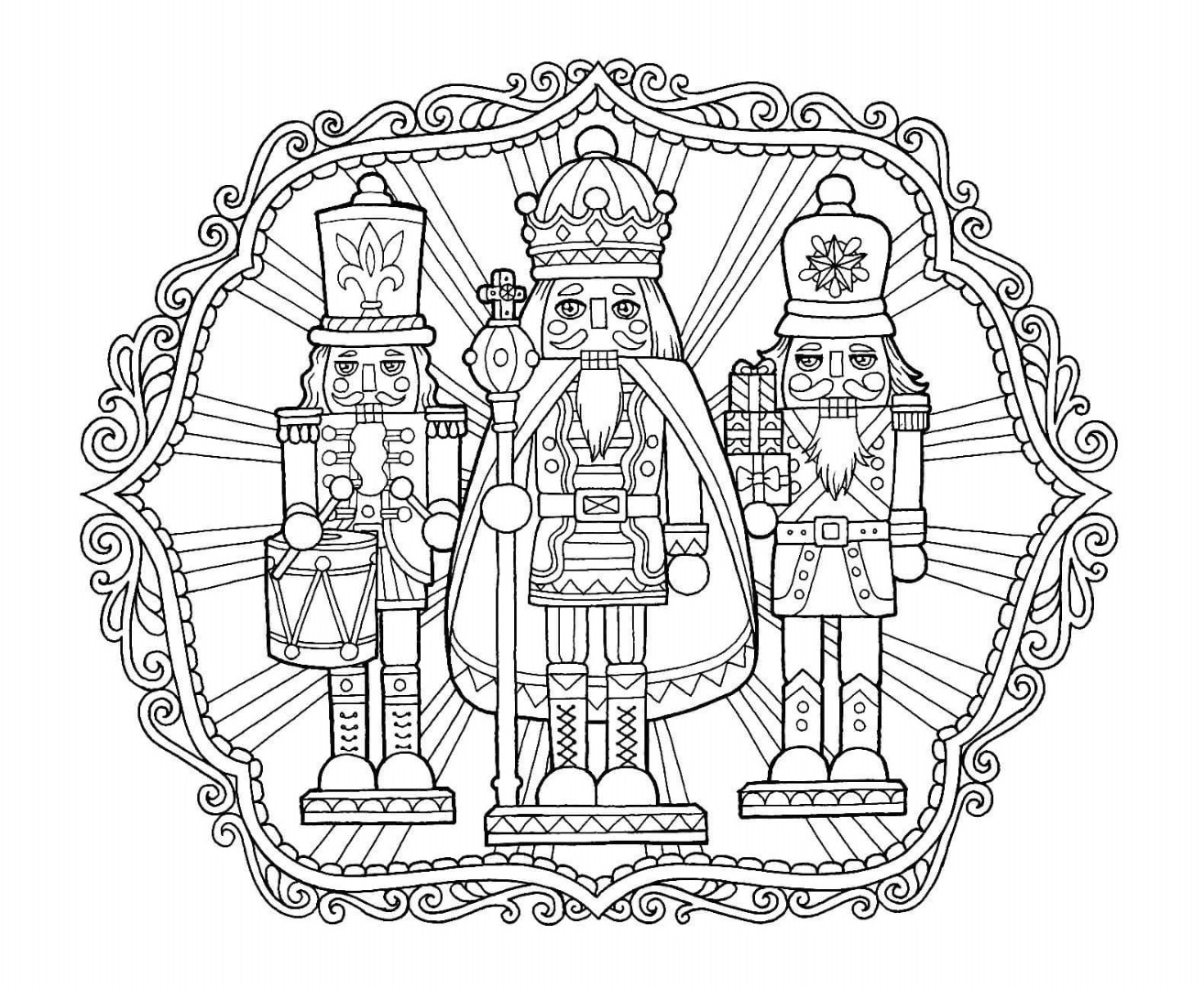 christmas coloring pages for adults free 5 absolutely free beautiful christmas colouring pages adults free coloring christmas pages for