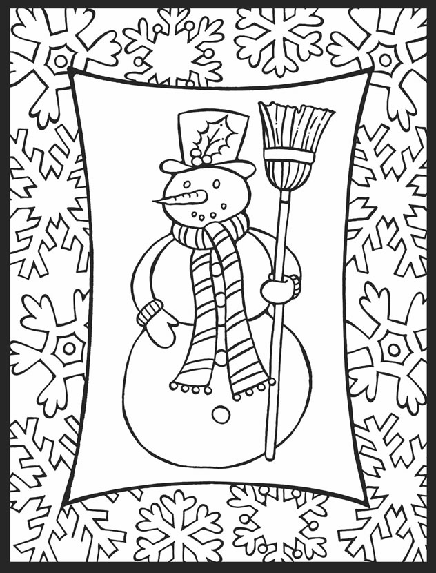 christmas coloring pages for adults free a crowe39s gathering christmas ornament coloring page for pages christmas free coloring adults