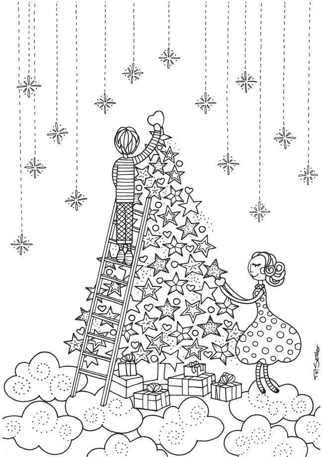 christmas coloring pages for adults free serendipity adult coloring pages seasonal winterchristmas for coloring christmas free pages adults