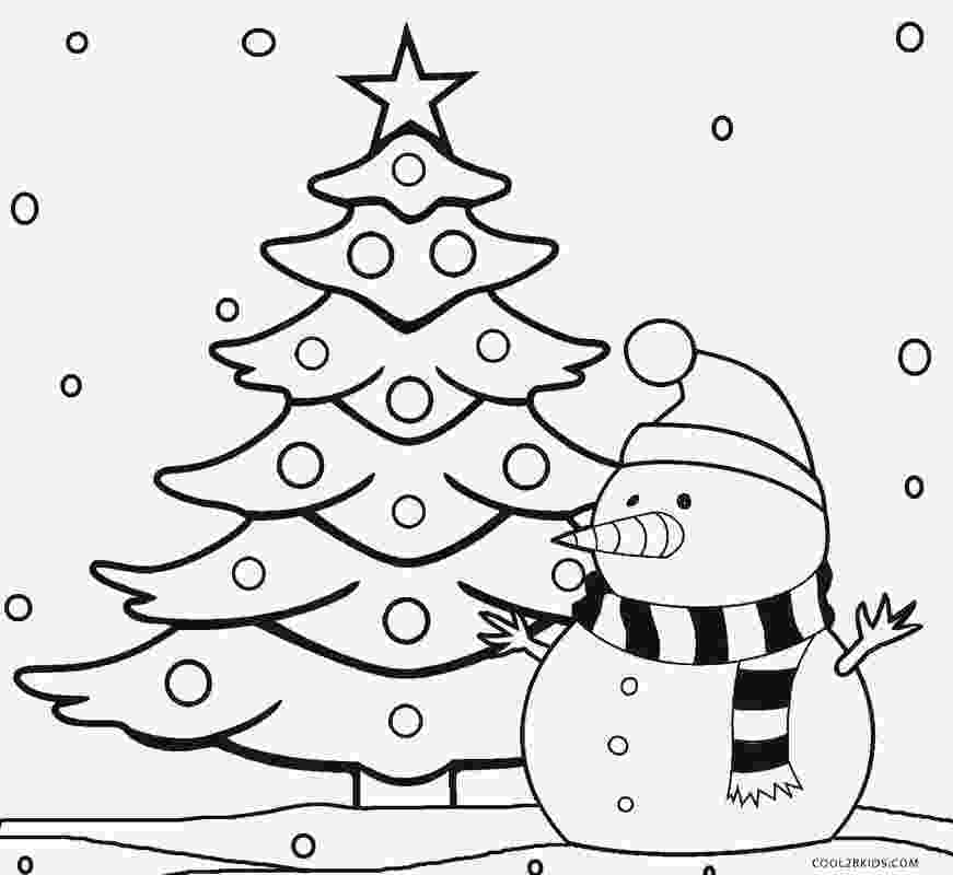 christmas tree coloring pages printable christmas tree coloring pages for kids cool2bkids pages christmas coloring tree
