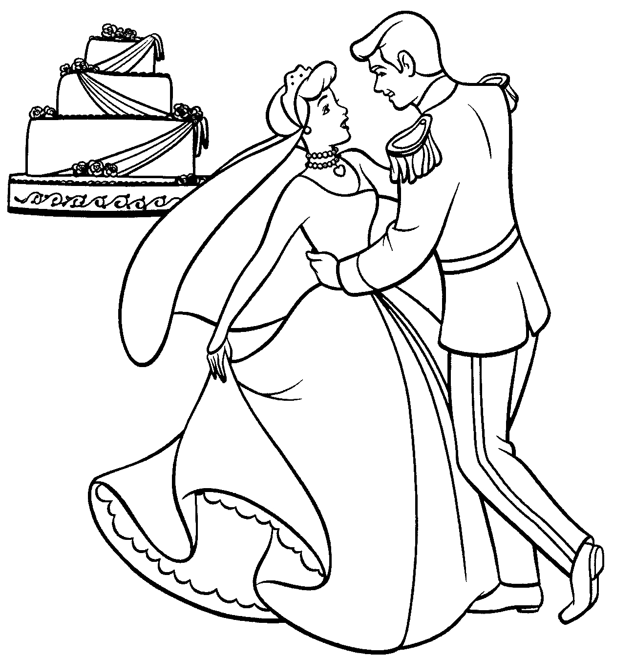 cinderella coloring page free printable cinderella activity sheets and coloring coloring cinderella page