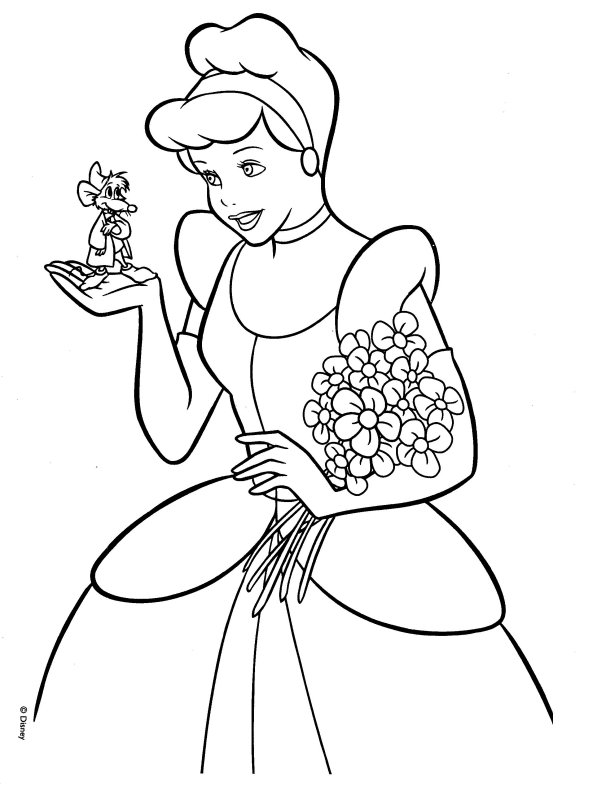 cinderella coloring page princess cinderella coloring pages ideas cinderella page coloring 1 1