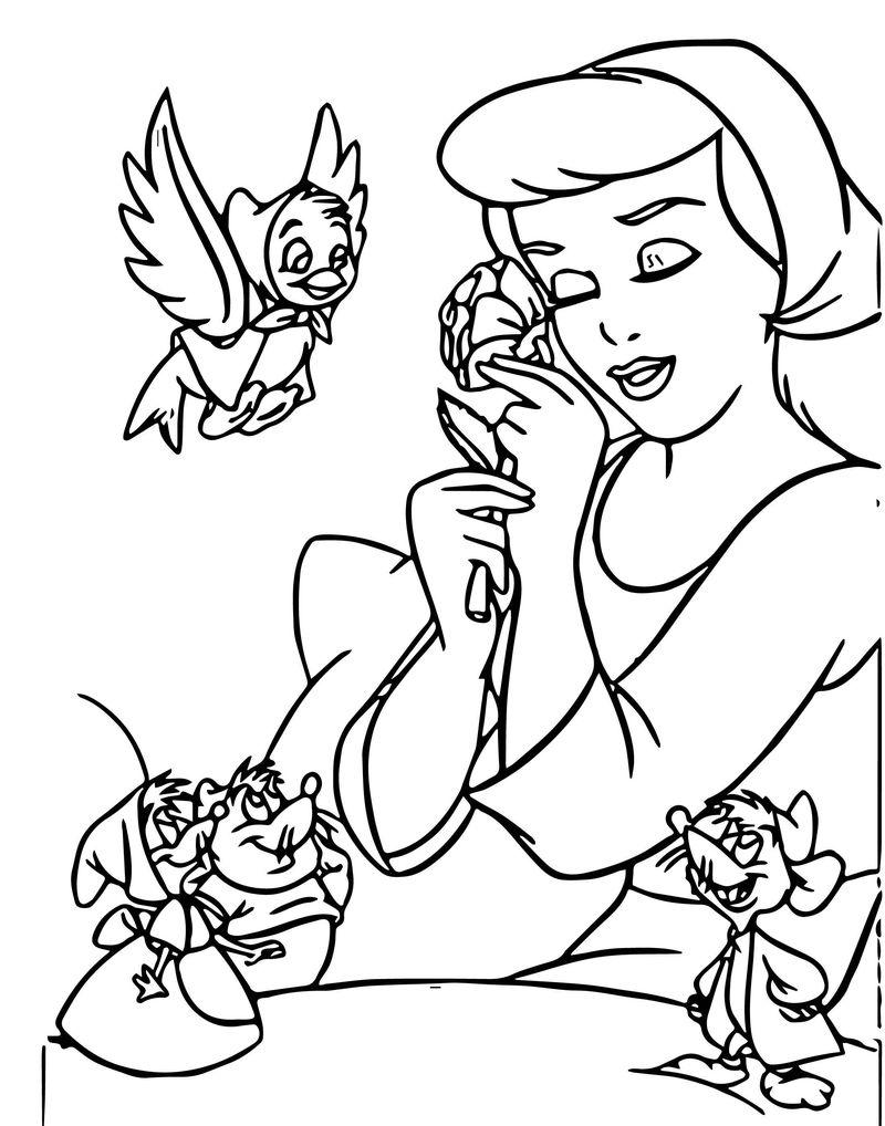 cinderella mice coloring pages cinderella mice coloring pages coloring home cinderella pages coloring mice