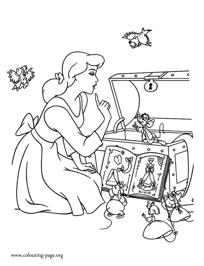 cinderella mice coloring pages disney cinderella coloring pages ideas classic style mice pages coloring cinderella