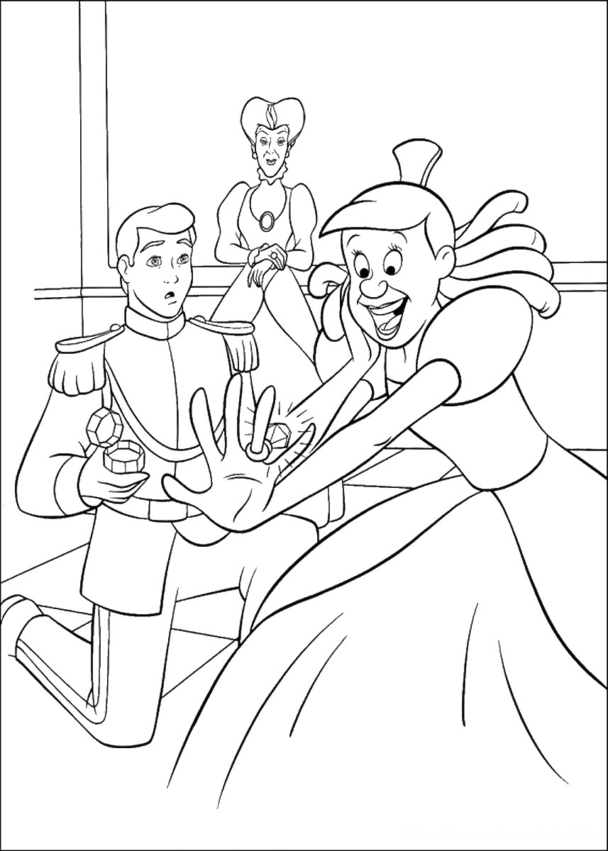 cinderella pictures to print and color 30 free printable cinderella coloring pages color pictures and cinderella to print
