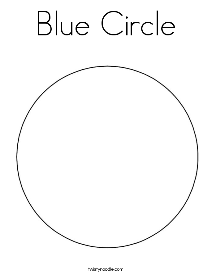 circle coloring page blue circle coloring page twisty noodle circle coloring page