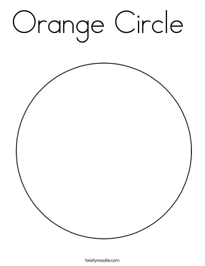 circle coloring page orange circle coloring page twisty noodle page circle coloring