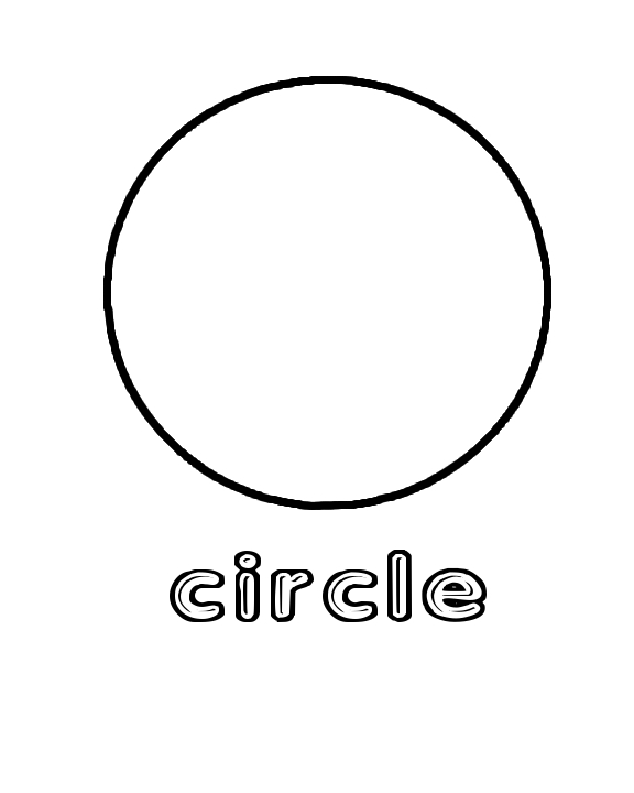 circle coloring page shapes coloring pages getcoloringpagescom circle page coloring