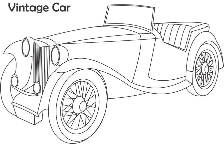 classic car coloring pages cars my coloring land pages car coloring classic