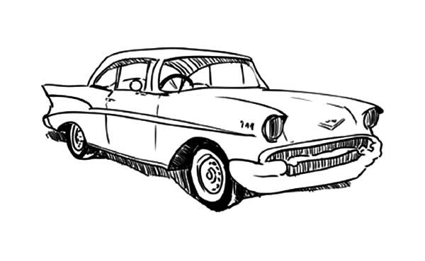 classic car coloring pages classic car netart coloring classic pages car