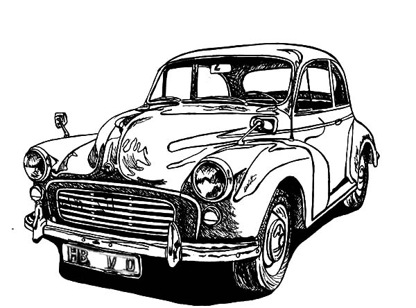 classic car coloring pages cool black and white line art bing images car drawings classic coloring pages car