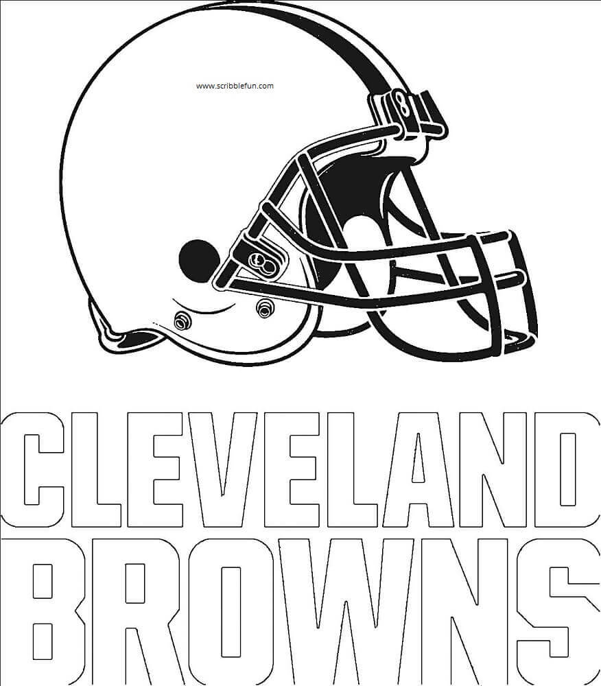 cleveland browns coloring pages 30 free nfl coloring pages printable browns cleveland coloring pages