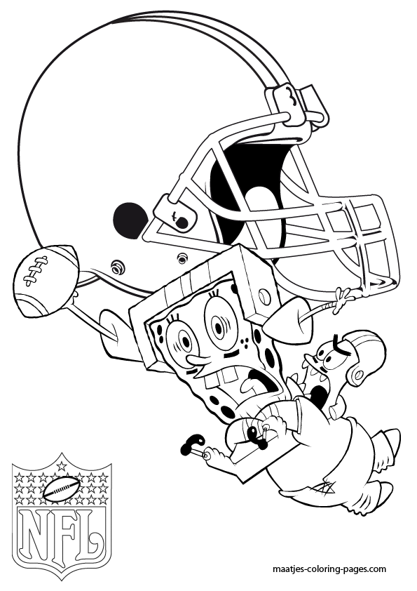 cleveland browns coloring pages cleveland browns patrick and spongebob coloring pages pages browns coloring cleveland