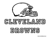 cleveland browns coloring pages nfl coloring pages pages browns cleveland coloring