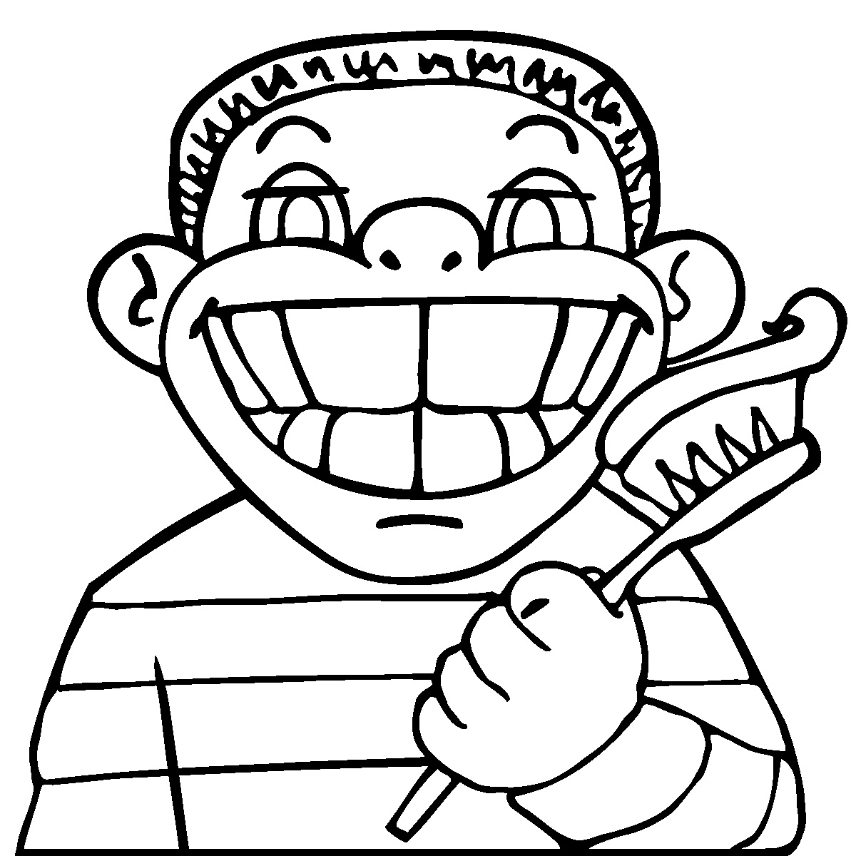 clip art coloring pages clip art kids chores picking up toys bw abcteach pages coloring art clip