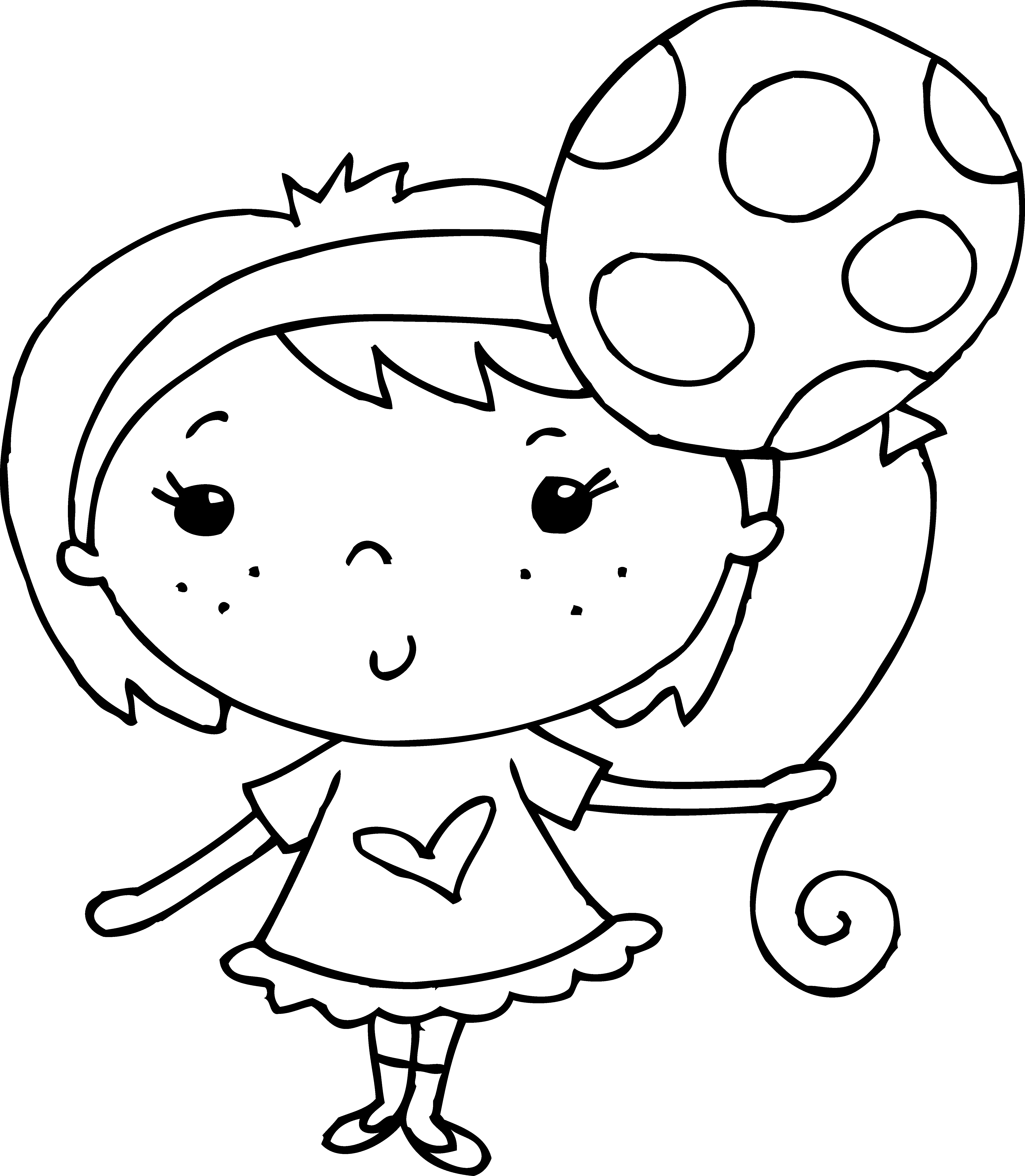 clip art coloring pages coloring page of girl with balloon free clip art pages coloring clip art