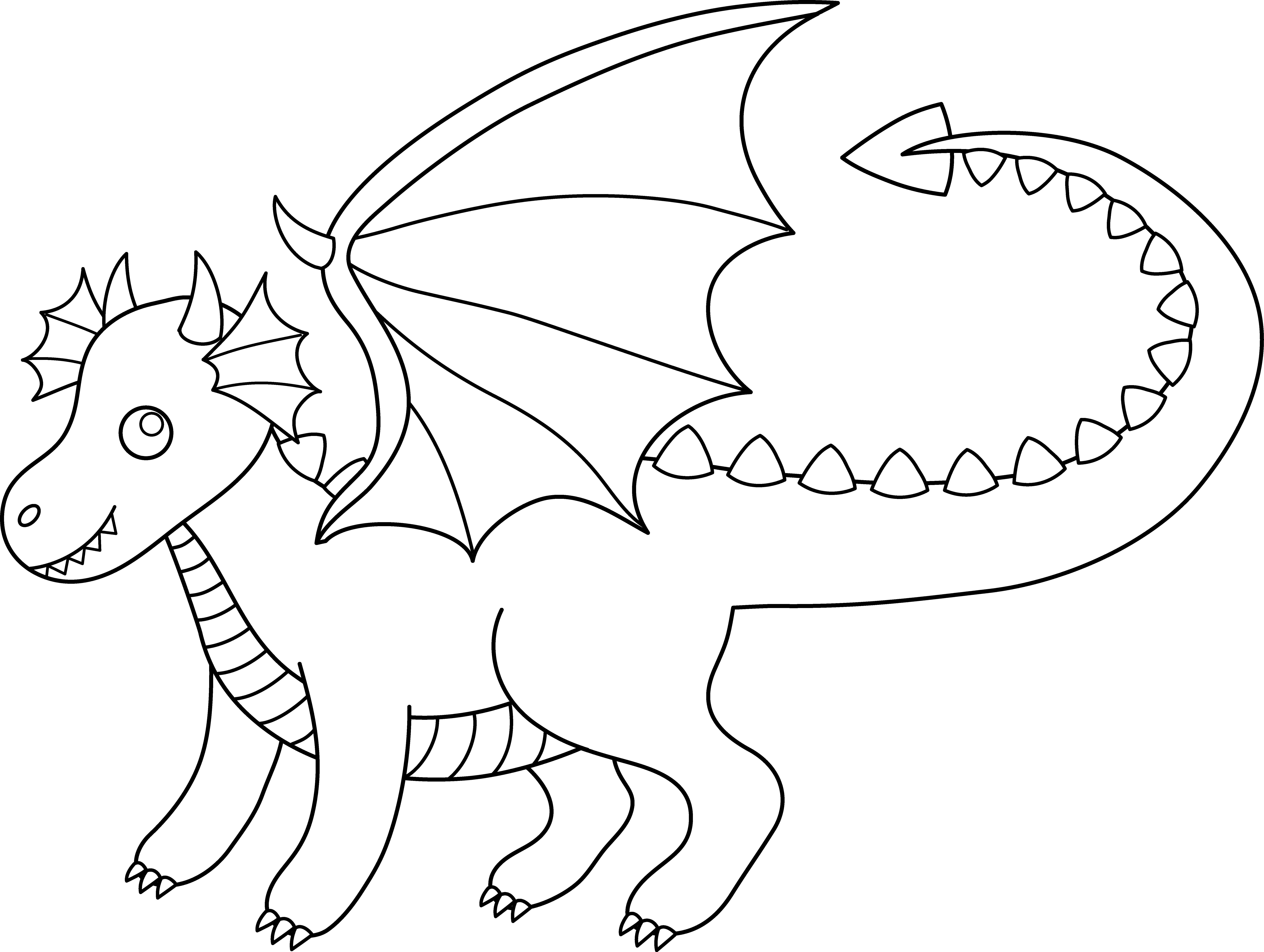 clip art coloring pages cute colorable dragon free clip art art clip coloring pages