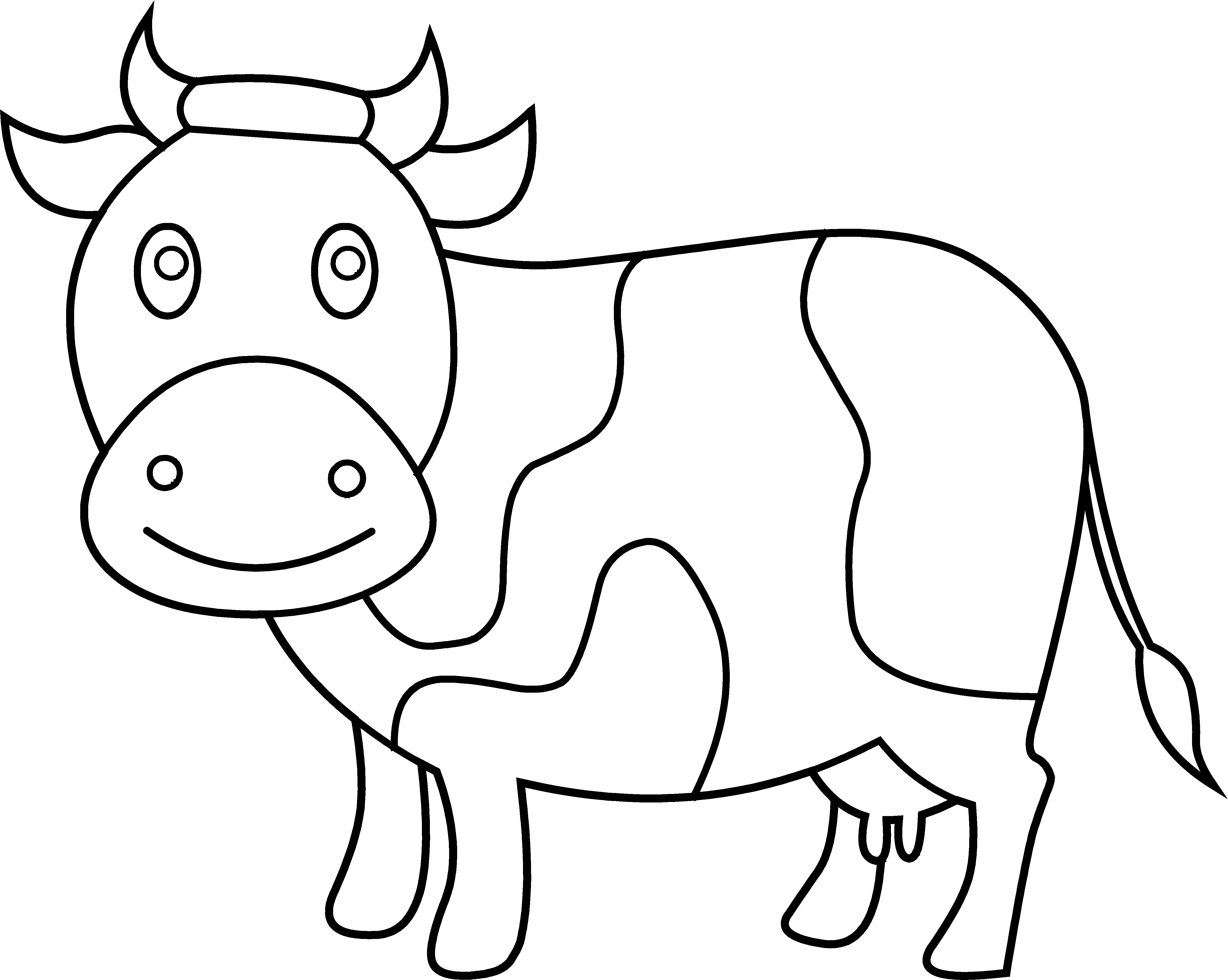 clip art coloring pages cute cow coloring page free clip art art coloring pages clip